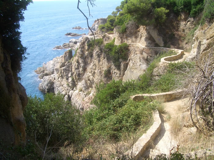 Coastal footpaths